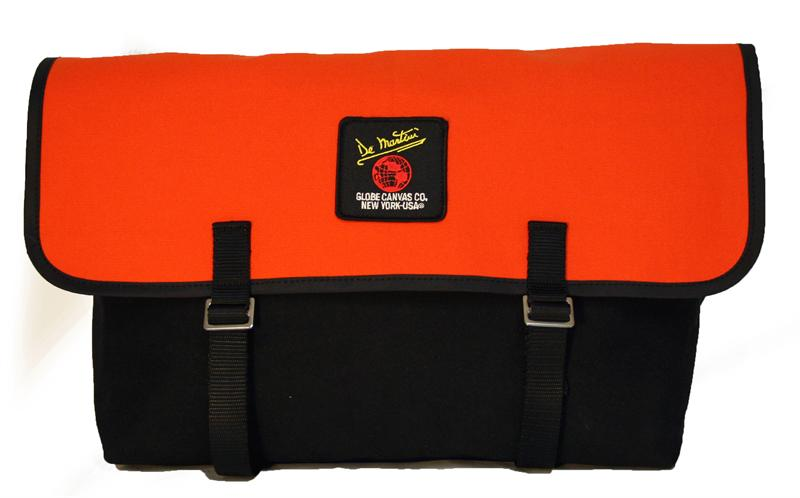 CUSTOM 3601 MESSENGER BLACK ORANGE