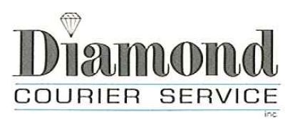 DIAMOND COURIER SERVICE LOGO